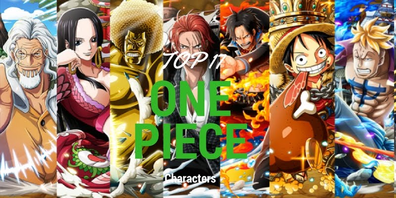 One Piece Top Characters! - Passionate views