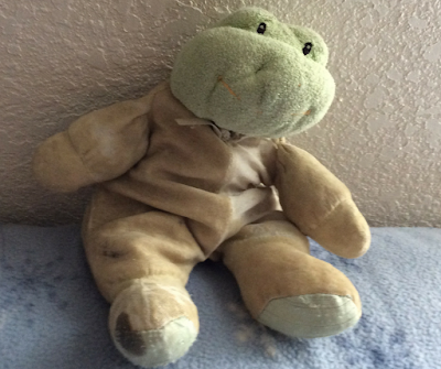 Andy is my daughter's little frog-he is also the source of a great lesson in the worth of human beings.  FREE theology curriculum for kids