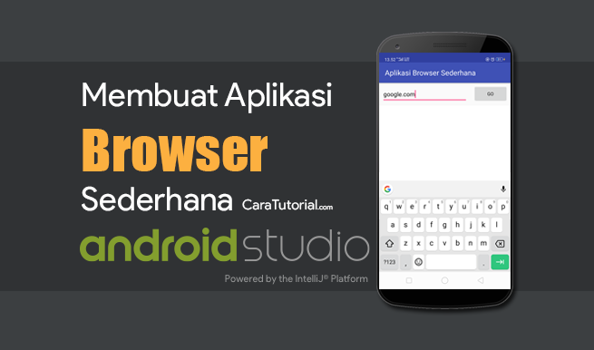 Aplikasi Browser Sederhana Android Studio