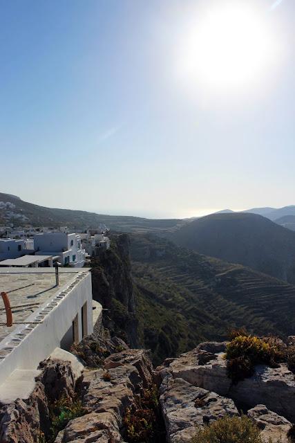 Greece, Folegandros, travel, beautiful, colourful, sea, mountain, twilight, interaction, habitat, village, white