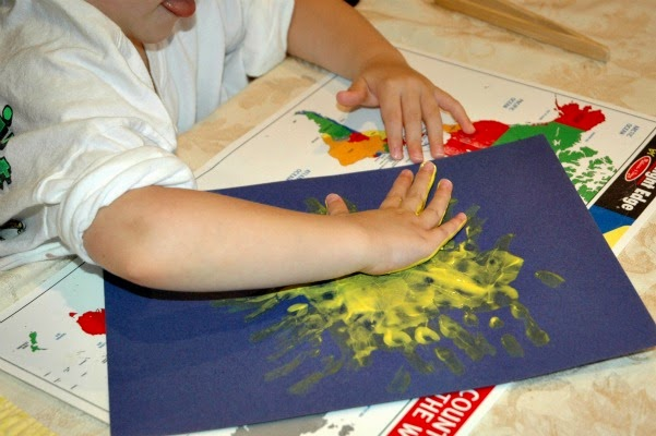 Keep Calm During Messy Play