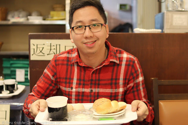 Renz Cheng in Business Hotel Nissei