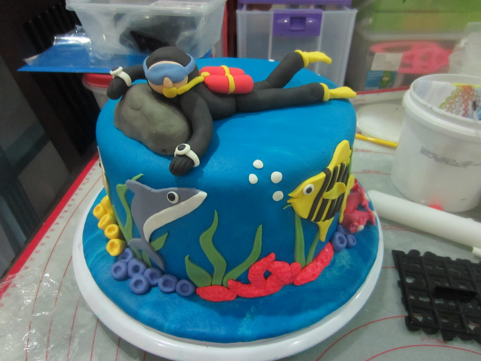 Scuba Diving Cakes Cake Ideas And Designs