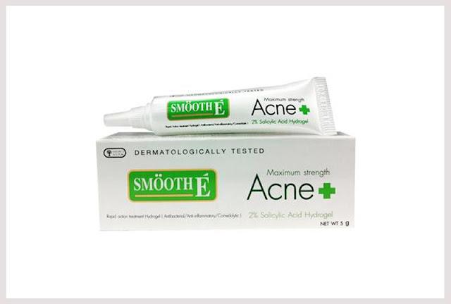 ยาแต้มสิว Smooth e acne hydro gel