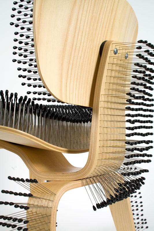 Potato Chip Chair Eames Deck Chairs For Boats Ass|c|ento Diário . Daily Ass|cc|ent: Paula Scher Creates Pincushion