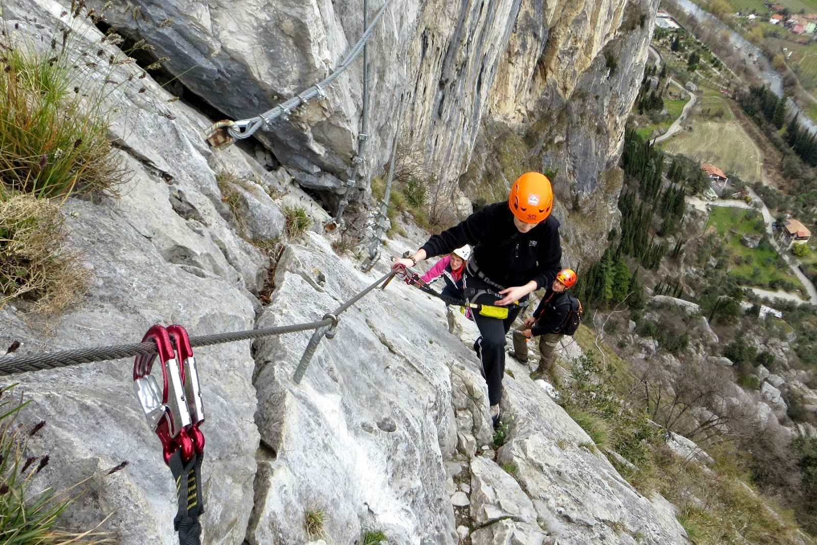via ferrata ad arco