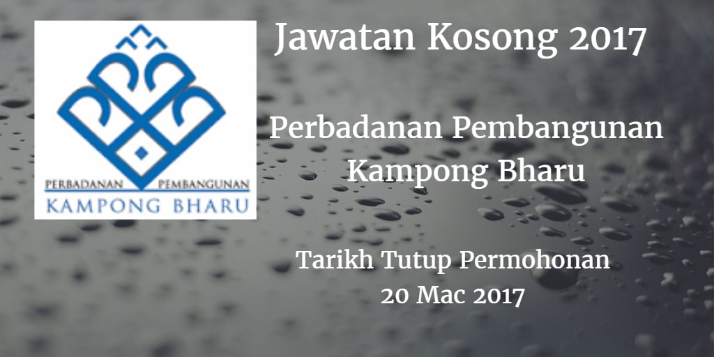 Jawatan Kosong PKB 20 Mac 2017