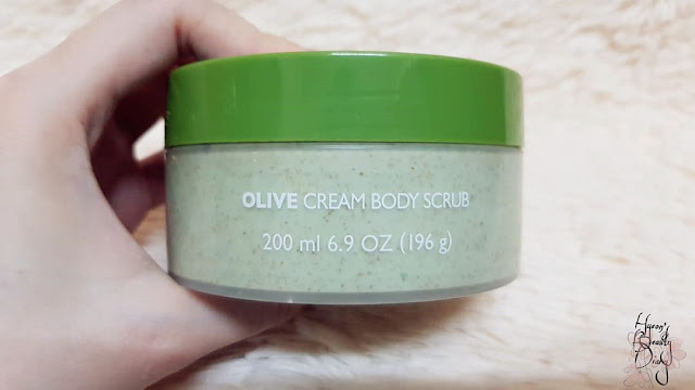 Review; The Body Shop's Olive Cream Body Scrub
