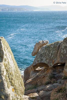 Piedras en la costa de Fisterra