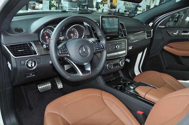 Nội thất Mercedes AMG GLE 43 4MATIC Coupe là một kiệt tác hoàn mỹ