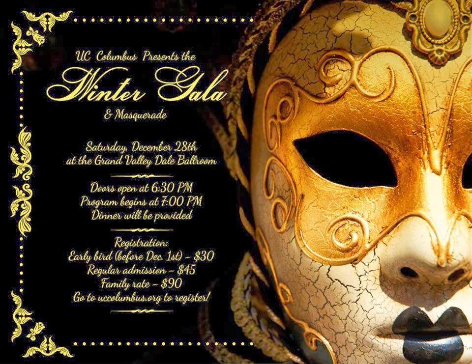 5b380310b640 The Winter Gala & Masquerade! | UC Columbus