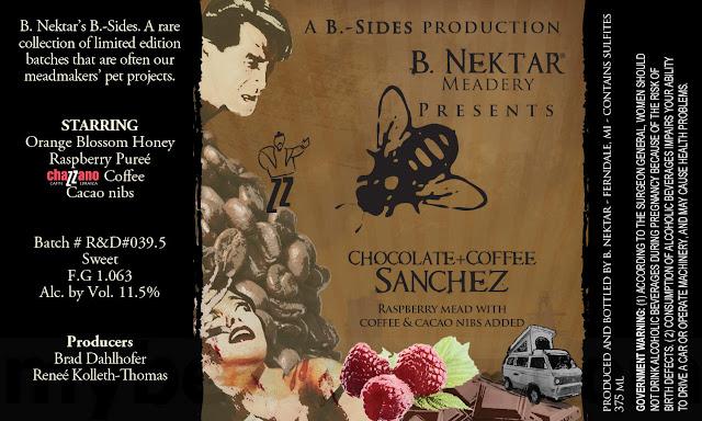 B. Nektar Working On Chocolate + Coffee Sanchez