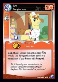 MLP Joe, Doughnuteer Canterlot Nights CCG Card