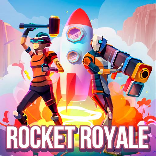 تحميل لعبه Rocket Royale مهكره اخر اصدار