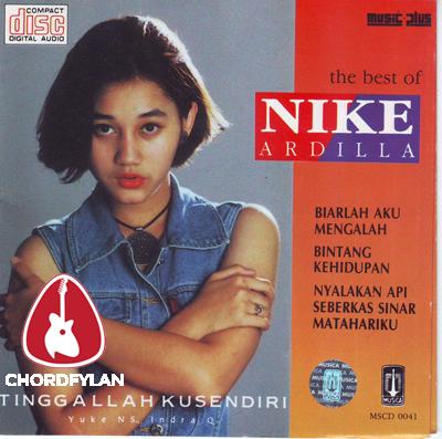 Lirik dan Chord Kunci Gitar Ku Tak Akan Bersuara - Nike Ardilla
