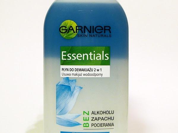 Garnier, Essentials, Płyn do demakijażu 2 w 1