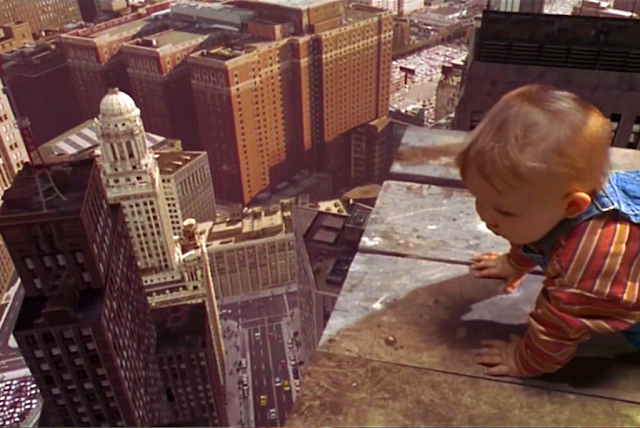 A Still from Baby's Day Out