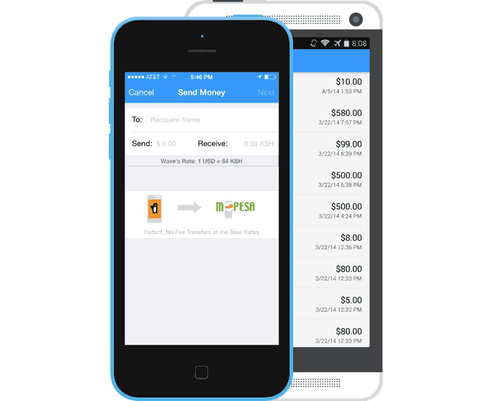 wave send money app