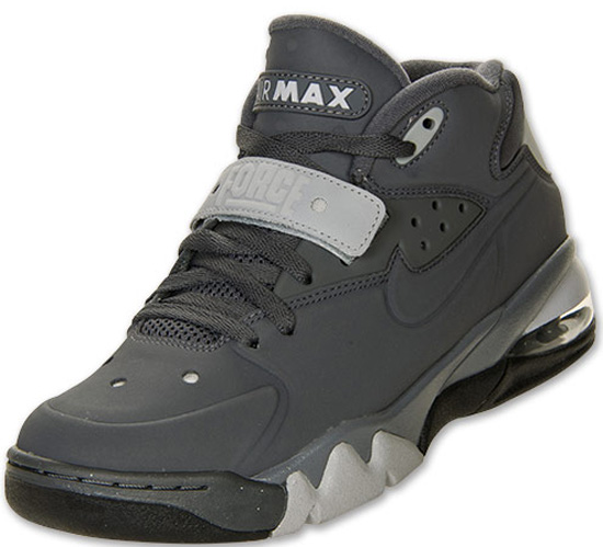 1f9deb5798ca4 The latest colorway of the Nike Air Force Max 2013 comes in a dark grey, dark  grey, wolf grey and black. Featuring a dark grey based upper with wolf grey  ...