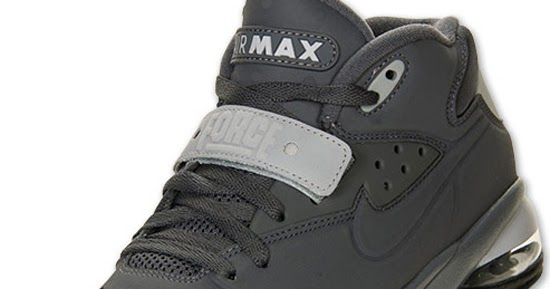 8a0fad9d855a ajordanxi Your  1 Source For Sneaker Release Dates  Nike Air Force Max 2013  Dark Grey Wolf Grey-Black March 2013