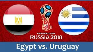 مواعيد مباريات منتخب مصر في الجولة الأولى بتوقيت القاهرة ضد كلا من روسيا ، أوروجواي، السعودية