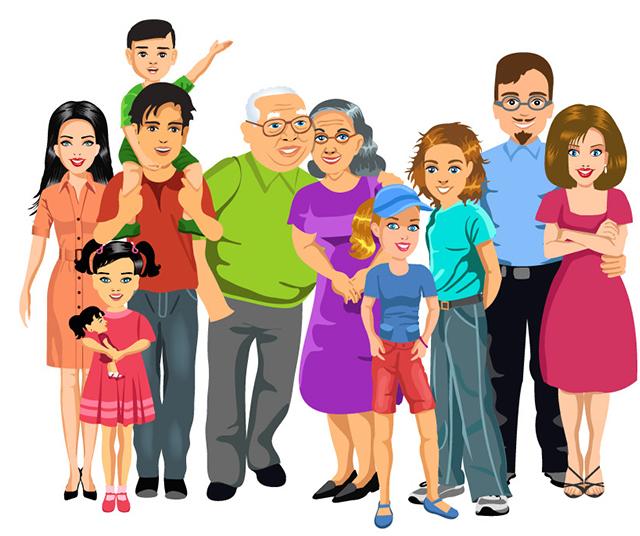Sue o con mediar la familia for Concepto de la familia para ninos