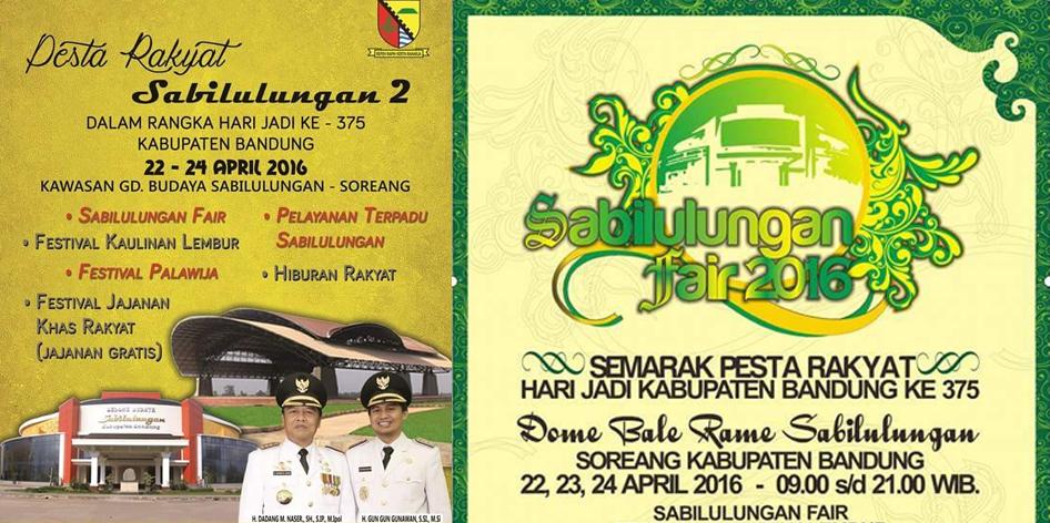 Rangkaian Acara Hari Jadi ke-375 Kabupaten Bandung
