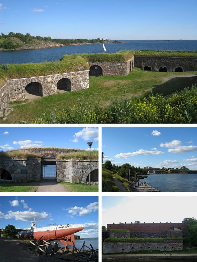 Isla fortaleza de Suomenlinna
