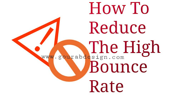 how to overcome the high bounce rate