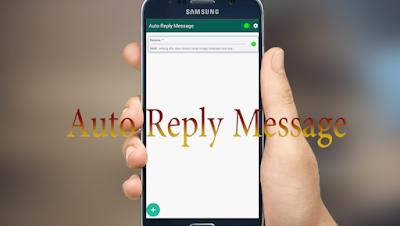 Cara Balas Pesan Otomatis di Whatsapp Saat Sedang Sibuk √  Cara Balas Pesan Otomatis / Auto Reply di Whatsapp ketika Sibuk