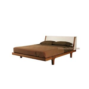 Dipan / Tempat Tidur Jati Minimalis Seri Elok