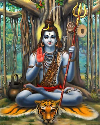 The-Beautiful-pic-of-Lord-Shiva-sitting-under-the-tree