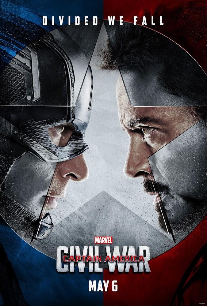 ตัวอย่างหนังใหม่ : Captain America: Civil War (กัปตันอเมริกา : ศึกฮีโร่ระห่ำโลก) ซับไทย poster1