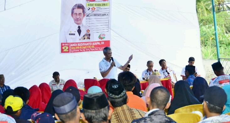Rudiyanto Ajak Masyarakat Wajo Pilih Prabowo-Sandi