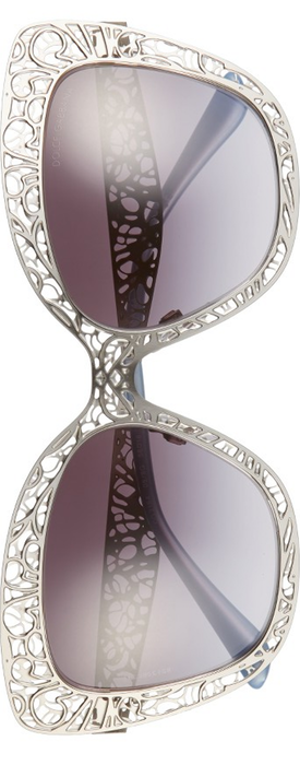 Dolce&Gababana 56mm Gradient Square Sunglasses