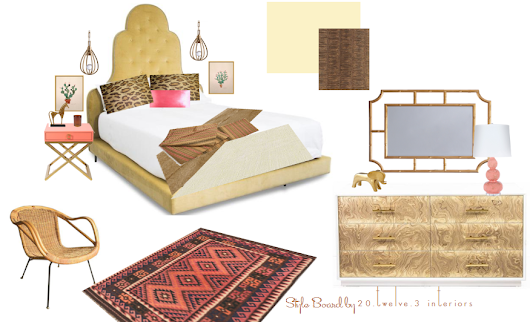 love it, live it: item inspired boho glam boudoir