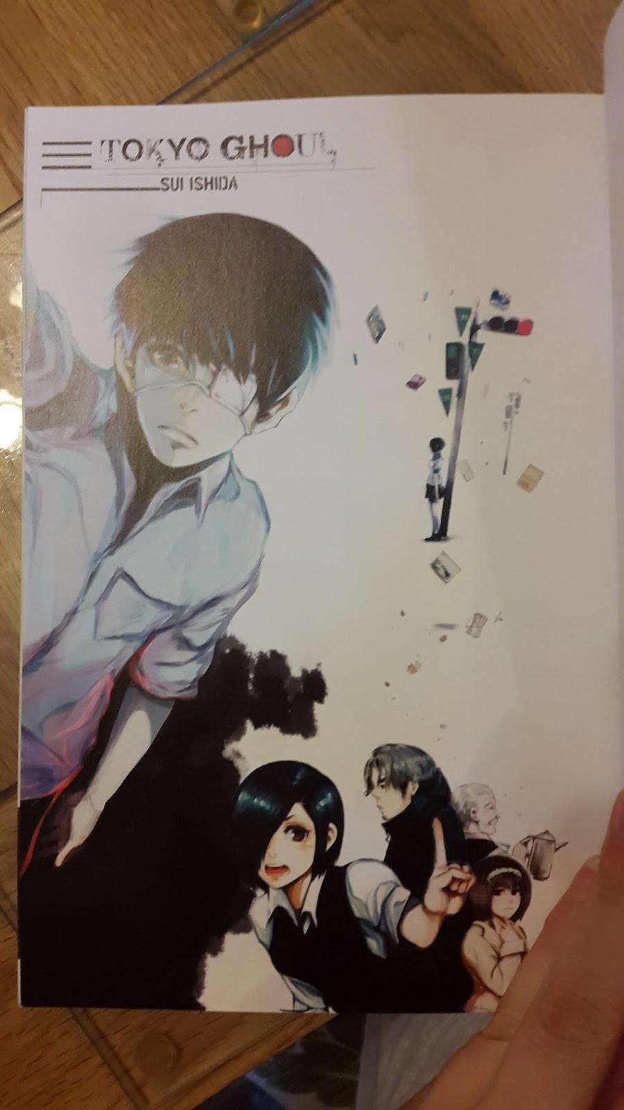 Manga and Anime maniac: Manga Madness: Tokyo Ghoul