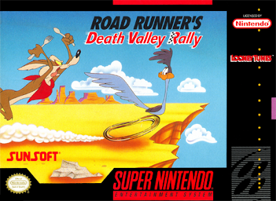Review - Road Runner's Death Valley Rally – Super Nintendo ...