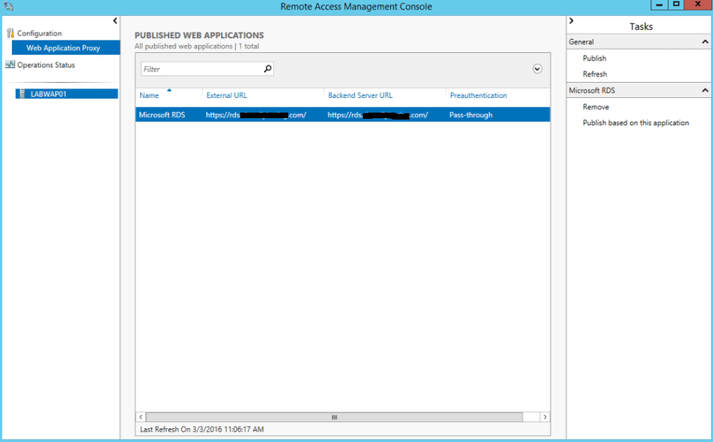 How To Deploy Web Application Proxy on Windows Server 2016