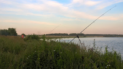 Рыбалка на озере Малый Кисегач