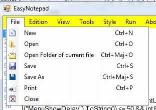 MyNotepad Source Code