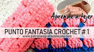 Punto Fantasía Crochet # 1 / Tutorial