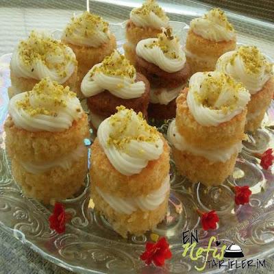 Porsiyonluk Pasta Tarifi