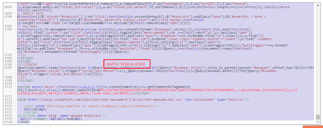 Panduan Cara Menganti Template Blog untuk Template VioMagz Agar Visitor tidak Turun