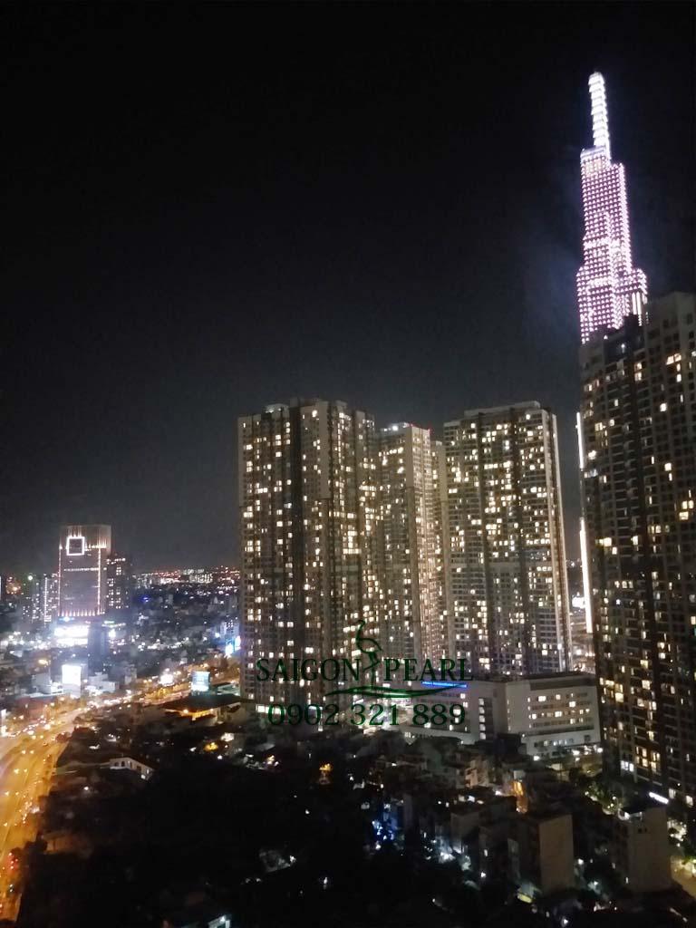 Căn hộ cực đẹp Sapphire 2 Saigon Pearl cho thuê 91m2 view Vinhomes 6
