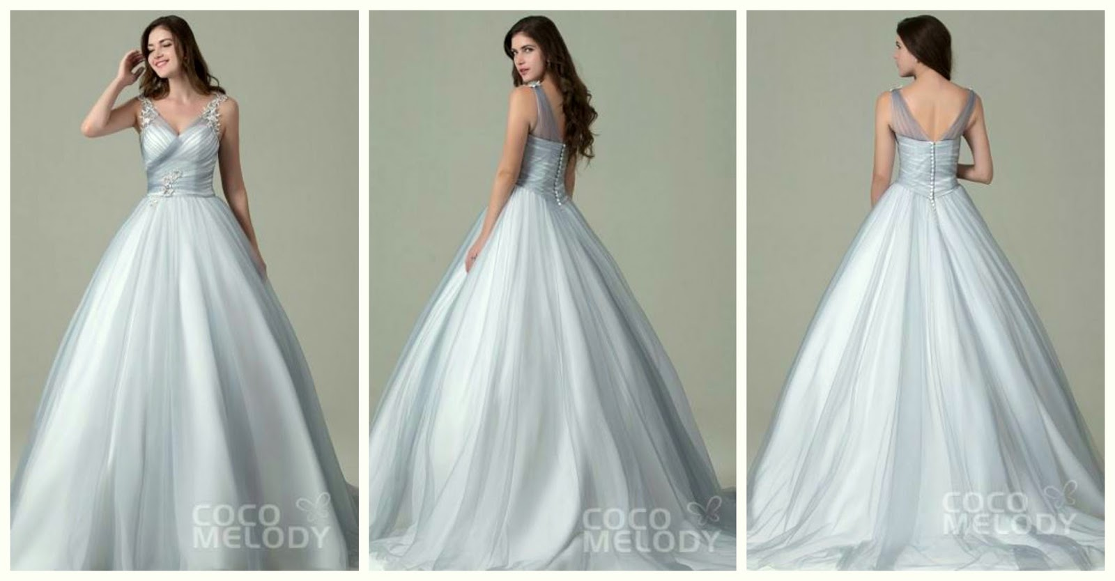 Beautiful Wedding Dresses That Will Take Your Breathe Away | Cocomelody.com