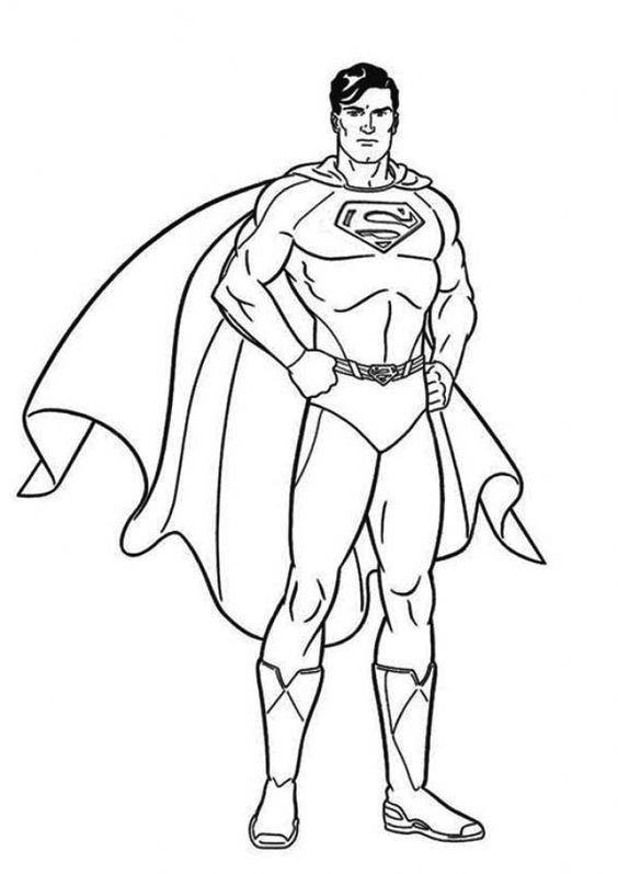 Tranh tô màu siêu nhân