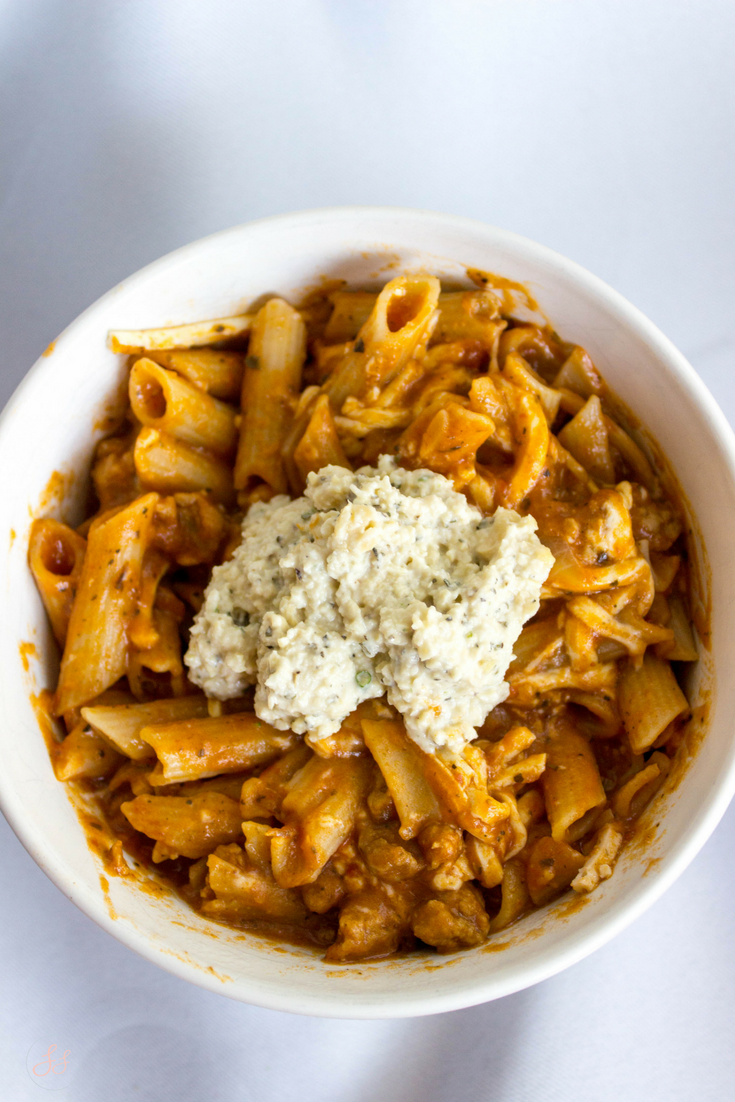 One Pot Lasagna Pasta - Gluten Free and Vegan!