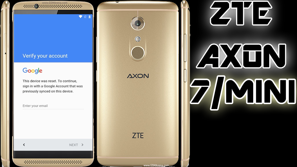 BYPASS GOOGLE ACCOUNT ZTE AXON 7 MINI REMOVE FRP ANDROID 7