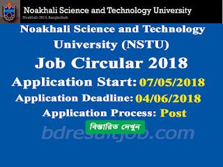NSTU Professor Recruitment Circular 2018